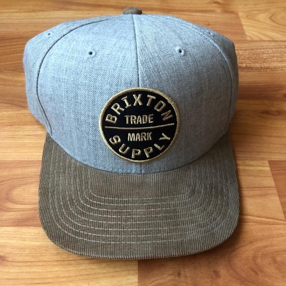 52a18fa0778 Brixton Supply SnapBack hat LIKE NEW